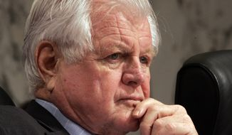 Sen. Edward M. Kennedy, Massachusetts Democrat (Associated Press)