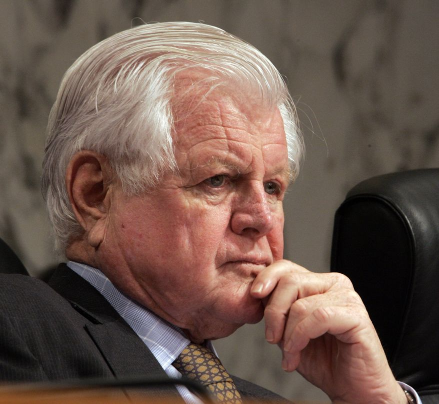 Sen. Edward M. Kennedy, Massachusetts Democrat (Associated Press)