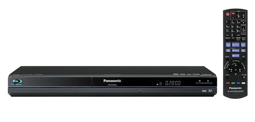 Panasonic's DMP-BD65 Blu-ray player