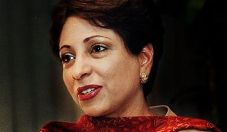 **FILE** Maleeha Lodhi (The Washington Times)