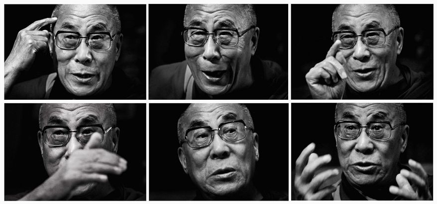 To his followers, the Dalai Lama is the Presence, the Holder of the White Lotus, the Absolute Wisdom, the Ocean.