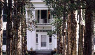 Rowan Oak in Oxford, Miss., was the home of Nobel Prize-winning author William Faulkner. A rare auction of signed Faulkner books and personal items is set for Tuesday at Christie's in New York. (Associated Press)