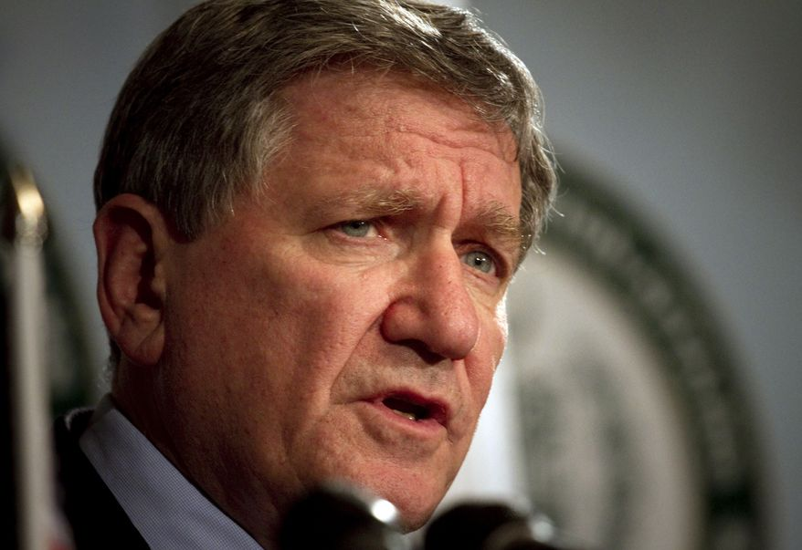 Richard Holbrooke, the U.S. special envoy to Afghanistan and Pakistan, speaks during a press conference in Islamabad, Pakistan, on Saturday, June 19, 2010. (AP Photo/Anjum Naveed)