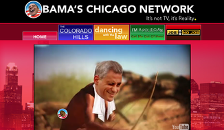 "The Republican National Committee on Tuesday launched a website for the mock ""Obama's Chicago Network: It's not TV, it's reality."""