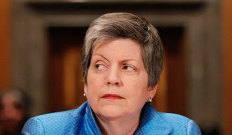 **FILE** Homeland Security Secretary Janet Napolitano (Associated Press)