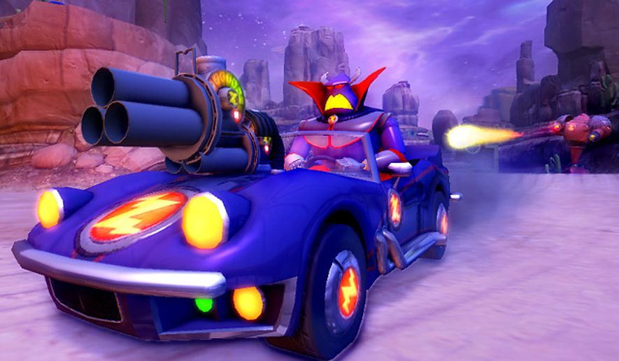 Toy Story 3 Games To Play : Playstation owners can play as emperor zurg in toy story
