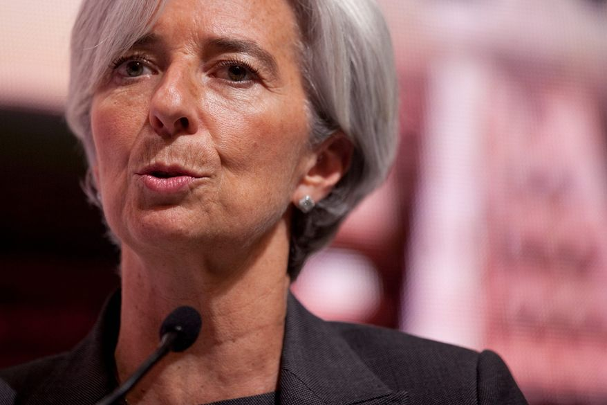 """Bloomberg Christine Lagarde, France's finance minister, shrugged off Mr. Obama's warning that austerity measures could derail the global recovery. """"Balancing our public finances is a priority,"""" she said."""