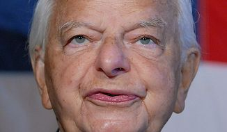 West Virginia Sen. Robert C. Byrd, the longest serving member in the United States Senate, died at the age of 92 on Monday, June 28, 2010.  Mr. Bryd served more than 50 years in the Senate after being elected in 1958.  He was first elected to the U.S. House of Representatives in 1952.  He is shown on Capitol Hill in a June, 2008, file photo. UPI/roger Wollenberg/Files