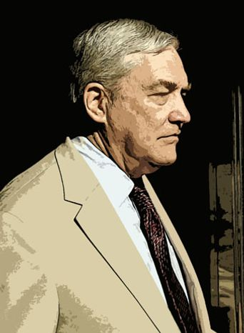 Illustration: Conrad Black