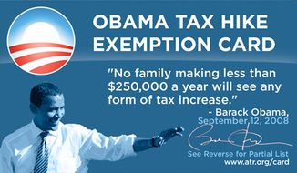 Americans for Tax Reform card