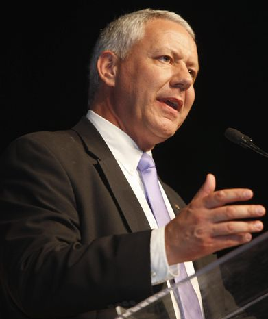Ken Buck, Weld County district attorney in Colorado, leads Jane Norton in the state's Republican primary race for a U.S. Senate seat by double digits, according to two recent surveys. (Associated Press)