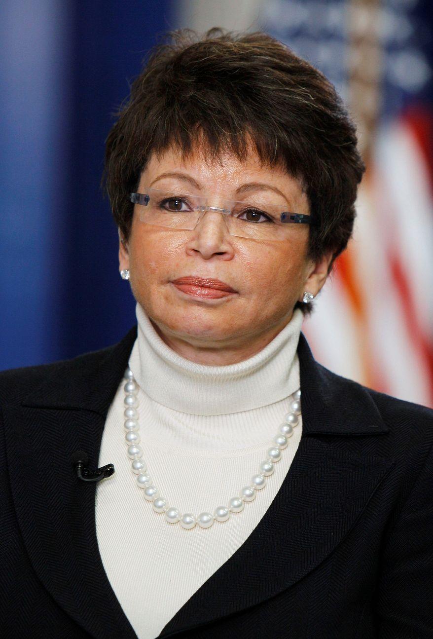 White House senior adviser Valerie Jarrett (Associated Press) **FILE**