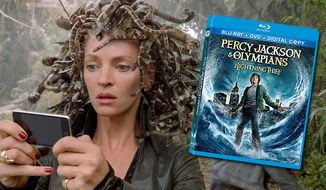 Percy Jackson and the Olympians: The Lightening Thief from Twentieth Century Fox Home Entertainment is now on Blu-ray.