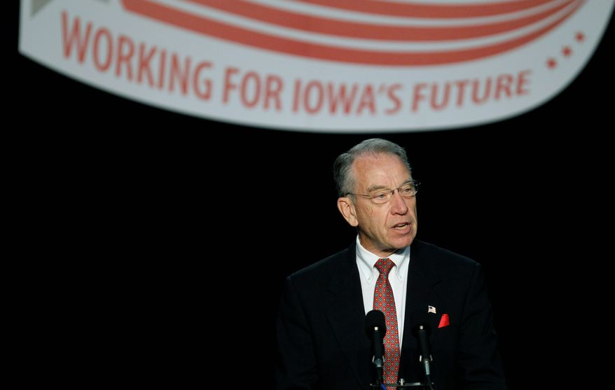 Associated Press Sen. Charles E. Grassley, Iowa Republican, said Wednesday that the president's recess appointment of the director of the Centers for Medicare and Medicaid Services denies the people's right to know his views on government-run health care.