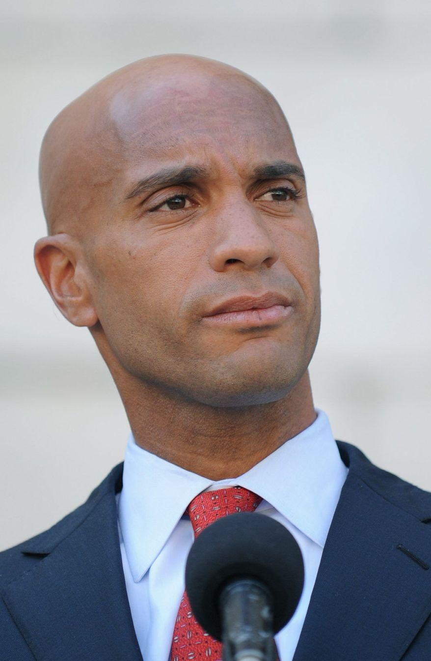 D.C. Mayor Adrian M. Fenty (UPI)
