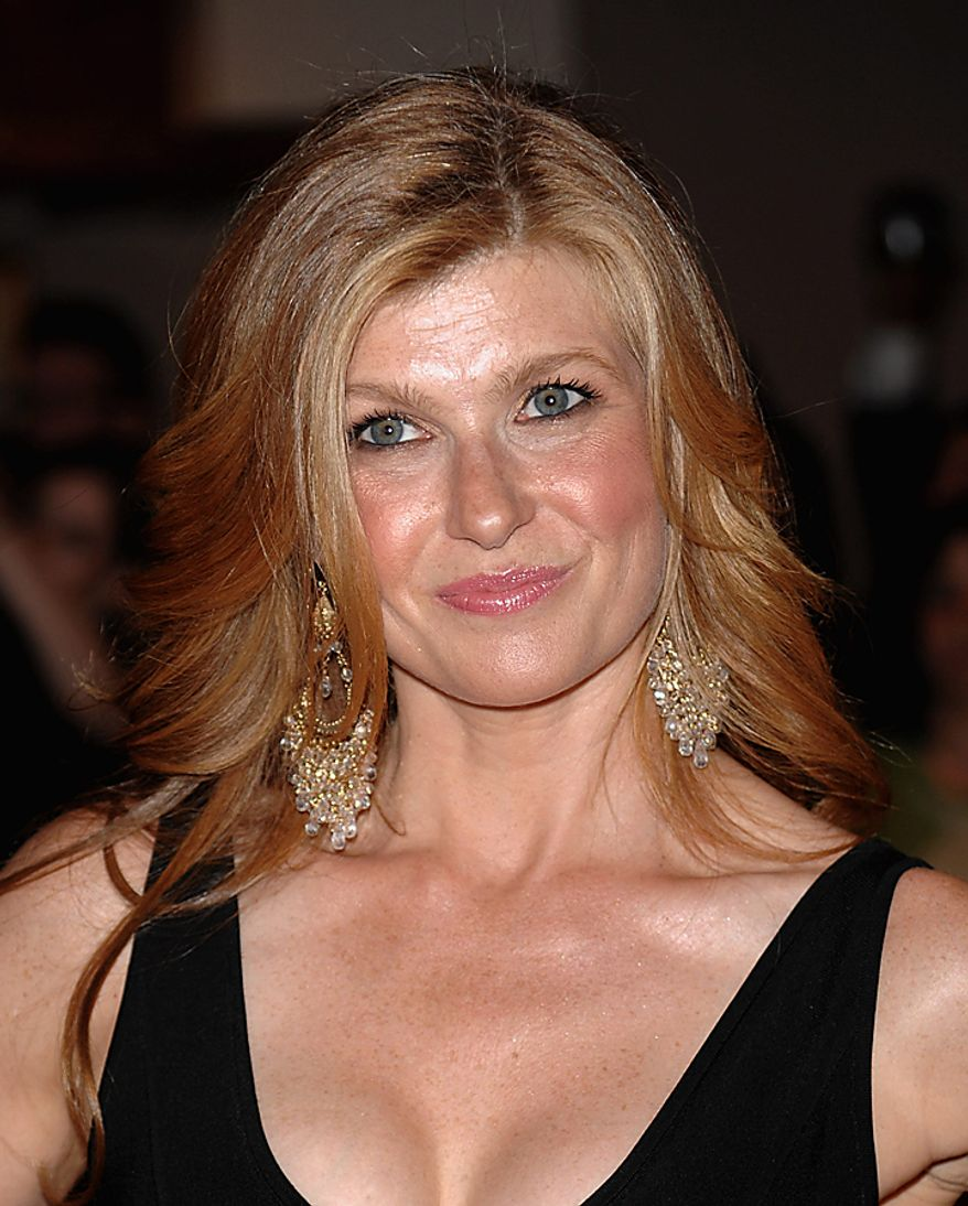 """In this May 9, 2009, file photo, actress Connie Britton attends the 2009 White House Correspondents' Association Dinner in Washington. Britton was nominated for an Emmy for best actress in a drama series on Thursday, July 8, 2010, for her role in """"Friday Night Lights.""""  The 62nd Primetime Emmy Awards will be held on Sunday, Aug. 29, in Los Angeles. (AP Photo/Evan Agostini, file)"""