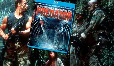 Predator: Ultimate Hunter Edition on Blu-ray from Twentieth Century Fox Home Entertainment.