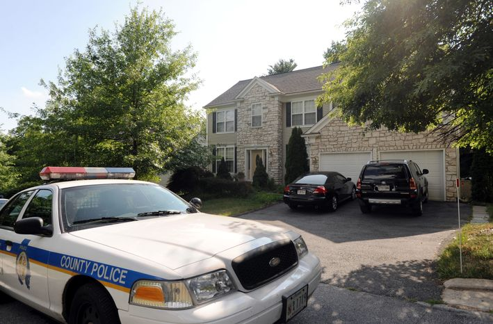 **FILE ** A Baltimore County Police car (AP Photo/Steve Ruark)