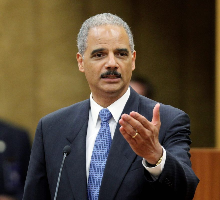 ASSOCIATED PRESS A spokeswoman for Attorney General Eric H. Holder Jr. says sanctuary cities that refuse to enforce federal immigration laws will not face lawsuits like Arizona, which has passed a law on illegal immigrants.
