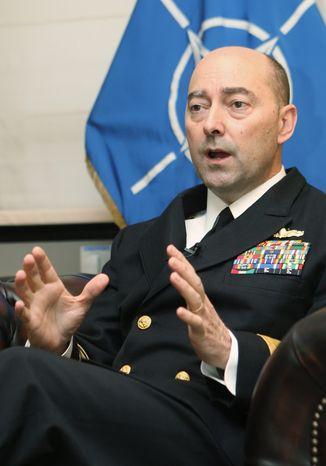 Navy Adm. James Stavridis