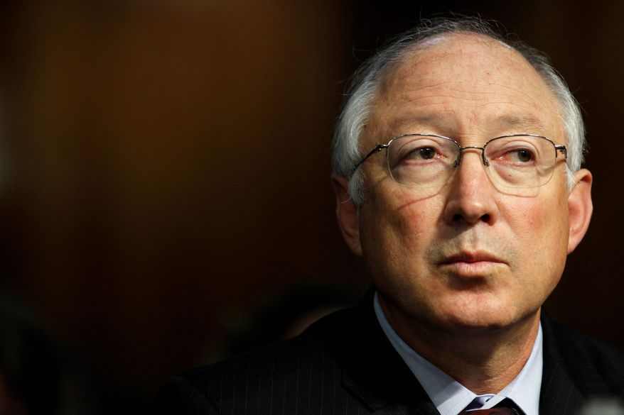 Interior Secretary Ken Salazar says deep-water drilling must be suspended until investigators can determine a cause for the April 20 explosion that led to millions of barrels of oil being released into the Gulf of Mexico, a problem that is ongoing. (Associated Press)
