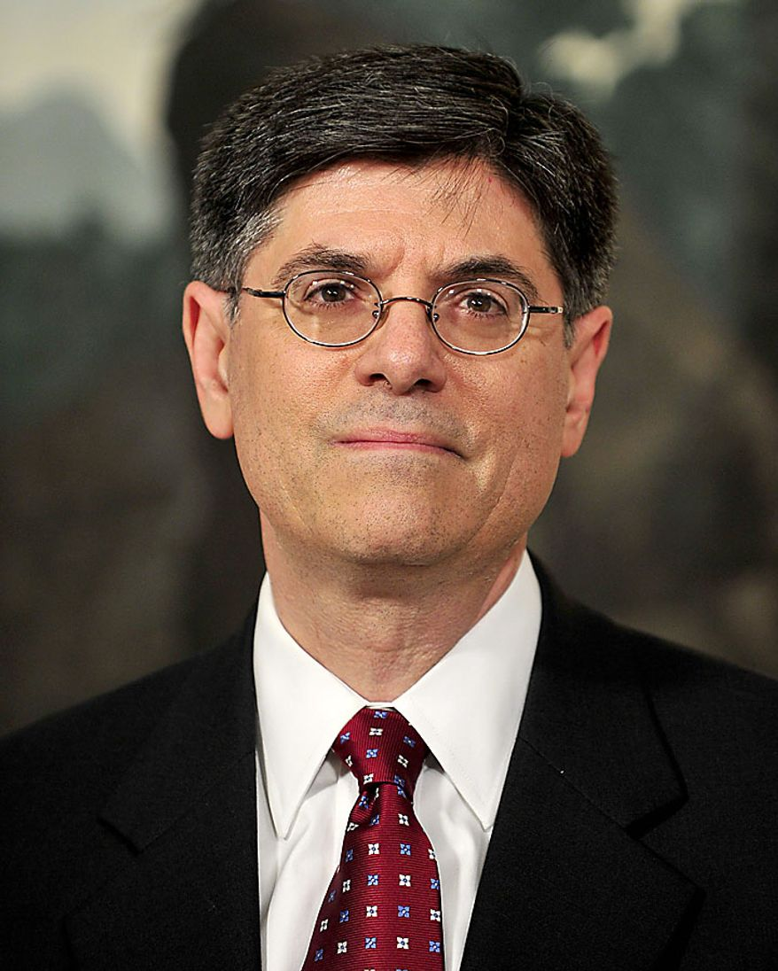 """Jacob J. """"Jack"""" Lew, appointed to serve as director of the Office of Management and Budget (OMB), in the Diplomatic Reception Room of the White House in Washington, D.C., on Tuesday, July 13, 2010. (UPI/Ron Sachs/POOL)"""