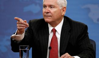 Defense Secretary Robert M. Gates is trying to limit reporters' access to Pentagon officials, both military and civilian. (Associated Press)
