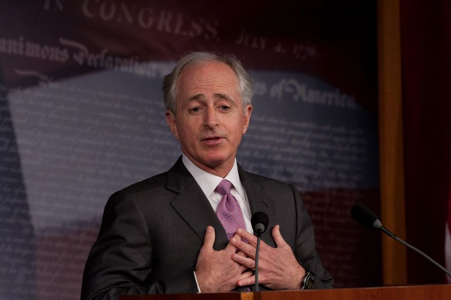 """ASSOCIATED PRESS Senate banking committee member Bob Corker says the new consumer agency has """"absolutely nothing - zero - to do with the financial crisis."""""""