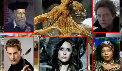 Most famous psychics include Nostradamus, Paul the Octopus, Johnny Smith, Uri Geller, Melinda Gordon and Miss Cleo.