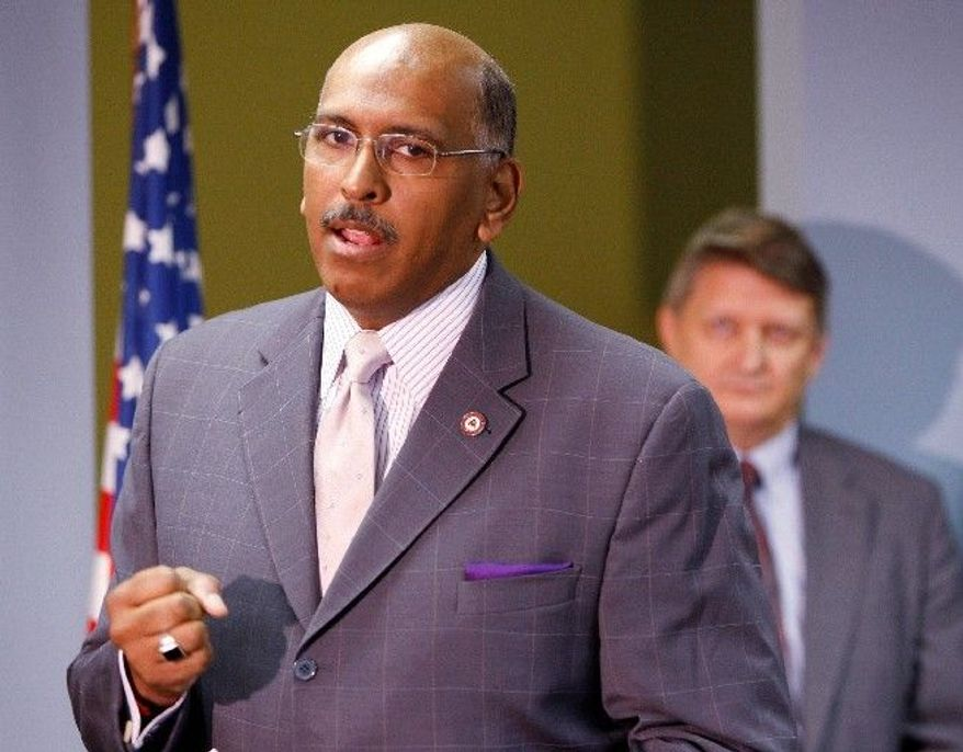ASSOCIATED PRESS COUNTERPUNCHING:Michael S. Steele is giving as good as he gets from Democratic Party critics in personal attacks.