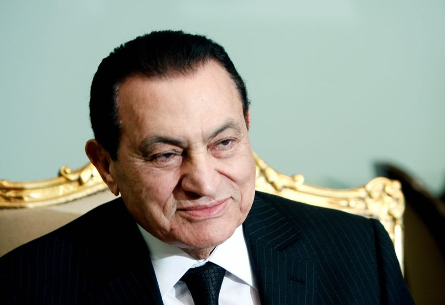 Associated Press AILING: Egyptian President Hosni Mubarak is thought to be dying from terminal cancer affecting his stomach and pancreas.
