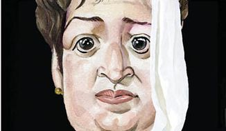 Illustration: Elena Kagan and Sharia
