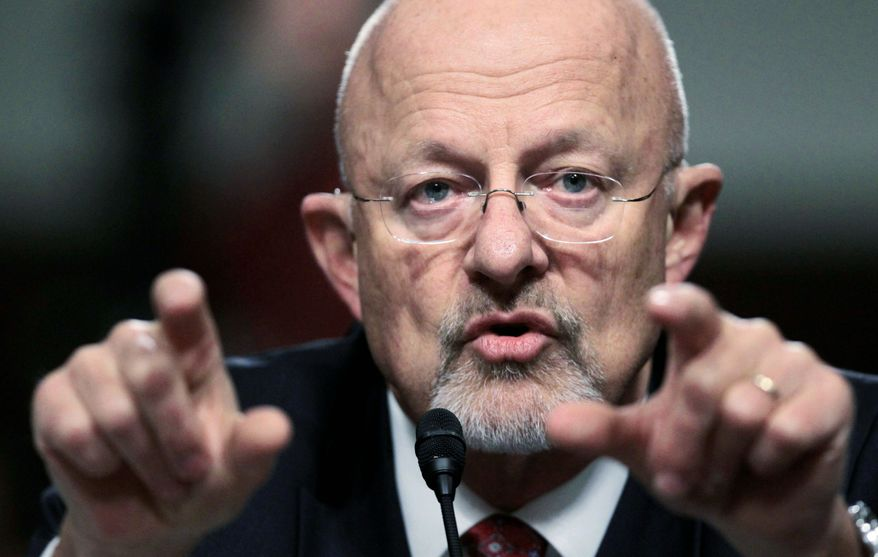 Director of National Intelligence nominee James R. Clapper Jr., a retired Air Force lieutenant general, testifies at his hearing before the Senate Select Committee on Intelligence on July 20, 2010. (Associated Press)
