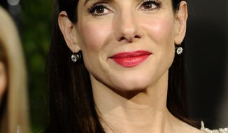 ** FILE ** In this March 7, 2010 file photo, Sandra Bullock arrives at the Vanity Fair Oscar party in West Hollywood, Calif. (AP Photo/Peter Kramer, file)