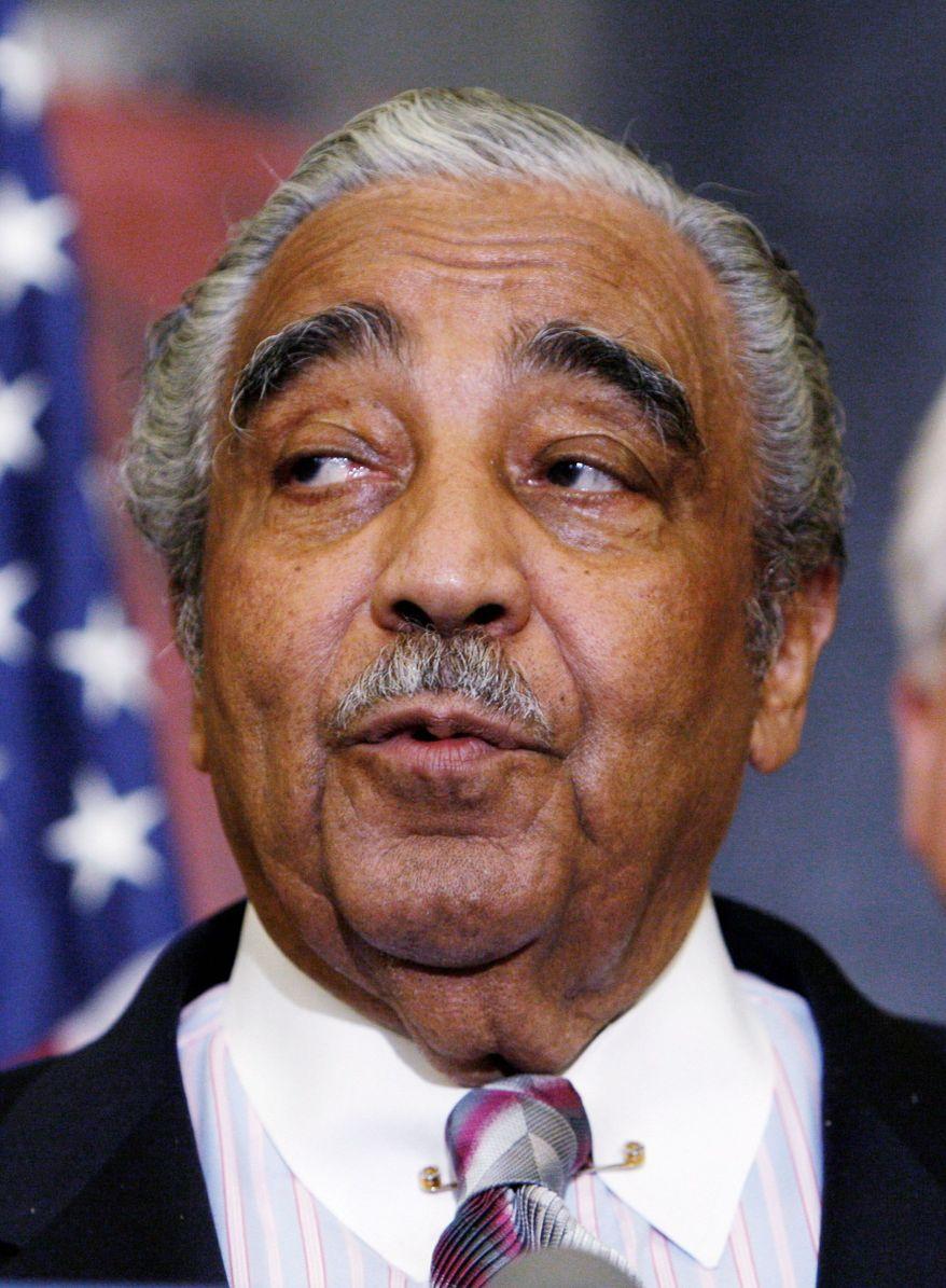 Rep. Charles B. Rangel, New York Democrat