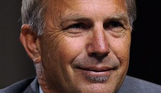 FILE - In this June 17, 2010 file photo, actor and Ocean Therapy Solutions partner Kevin Costner testifies on Capitol Hill in Washington. (AP Photo/Susan Walsh, file)