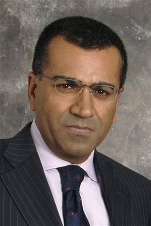 """FILE - In this undated publicity released by ABC-TV, Martin Bashir, co-anchor of """"Nightline,"""" Martin Bashir is shown. (AP Photo/ABC, DONNA SVENNEVIK, file)"""