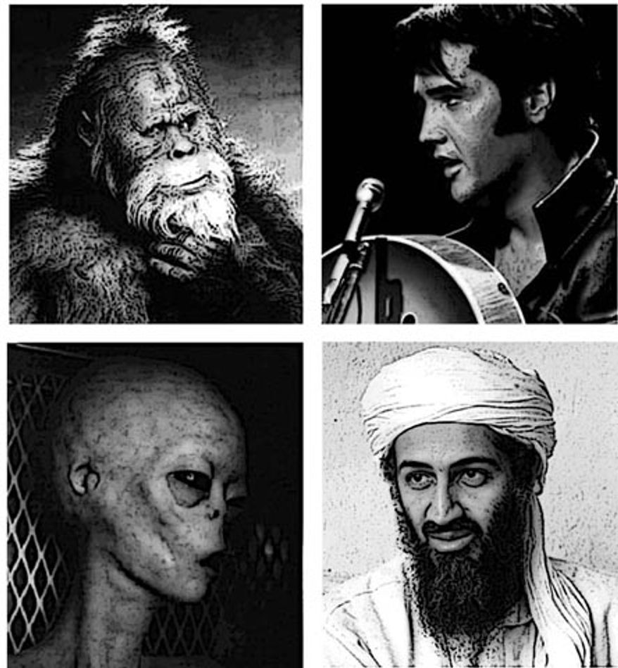 Illustration: Elvis and bin Laden