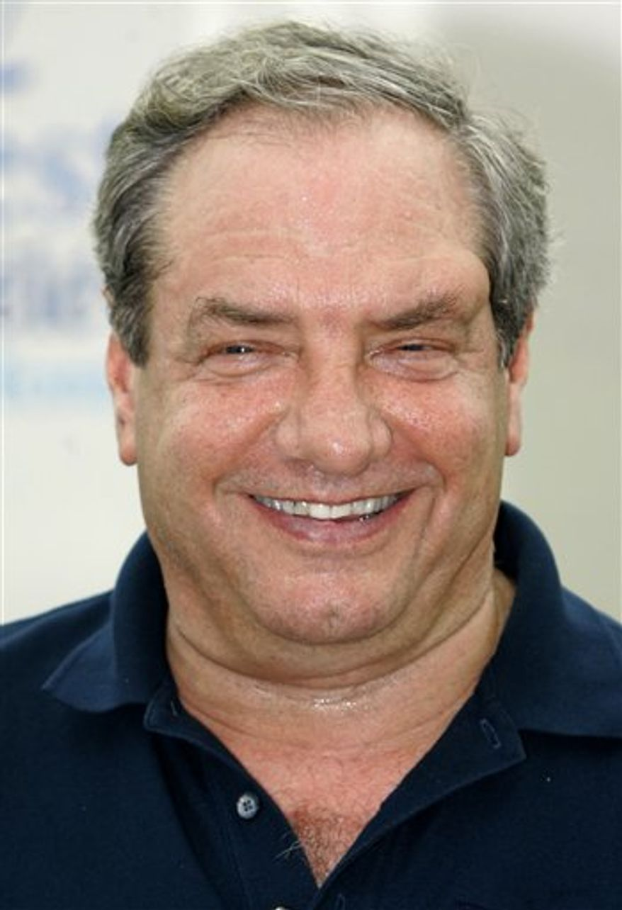 FILE - In this June 11, 2008 file photo, producer Dick Wolf pose during the 48th Monte Carlo television festival in Monaco.(AP Photo/Lionel Cironneau, file)