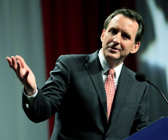 """The president """"needs to do a better job of explaining why"""" we need to be in Afghanistan, Minnesota Gov. Tim Pawlenty said Monday. (Associated Press)"""