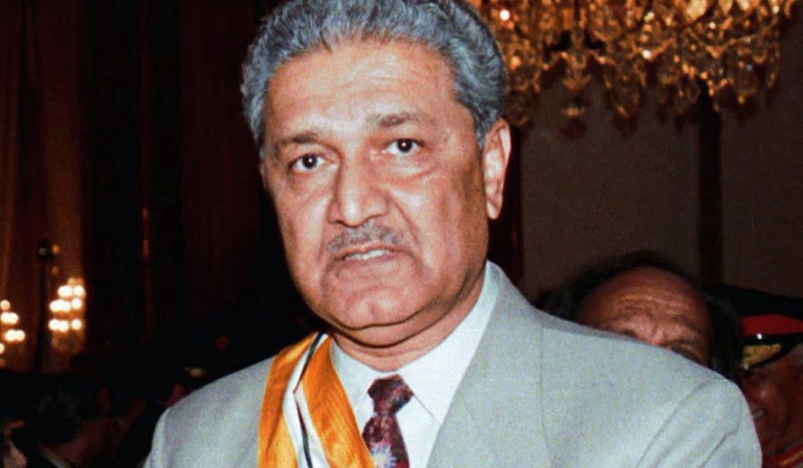 GETTING THE GANG BACK TOGETHER? Members of the network named after Abdul Qadeer Khan are gaining in popularity. (Associated Press)