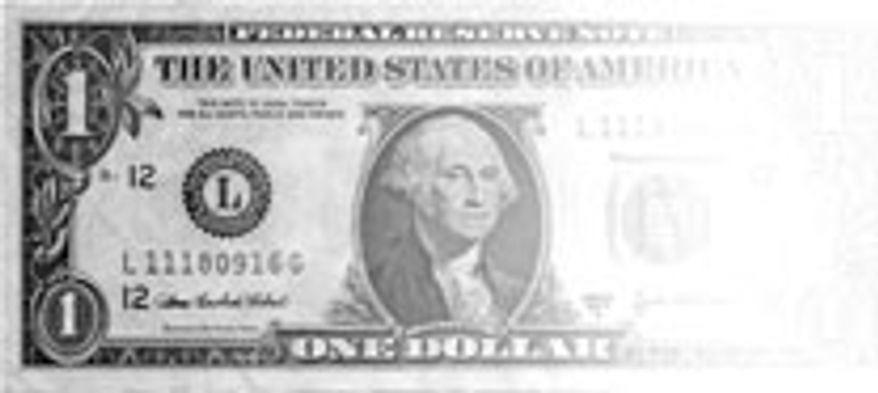 Illustration: Disappearing dollar
