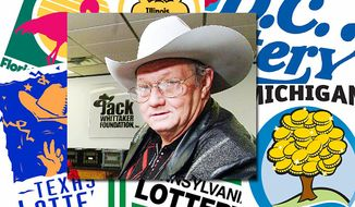 Jack Whittaker won a record $314.9 million in the multistate Powerball lottery in 2002. (Whittaker photo: Associated Press)