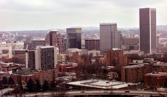 **FILE** The Portland, Ore., skyline (Associated Press)