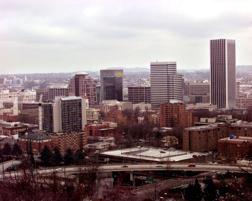 **FILE** The Portland, Ore., skyline (Associated Press)
