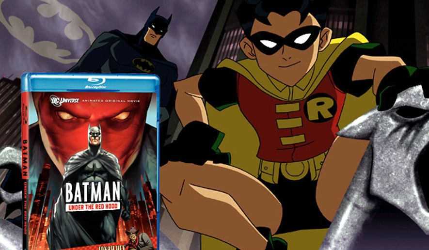 Batman: Under the Red Hood from Warner Home Video for Blu-ray