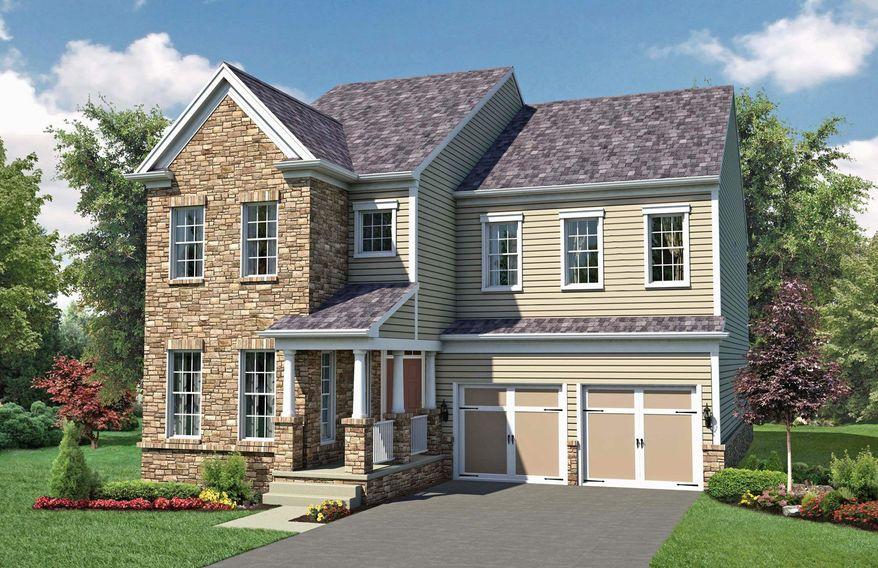 Pulte Homes is building 77 single-family homes on 6,000-square-foot sites at Emerald Ridge at Brambleton in Ashburn. The homes have 2,721 to 3,115 finished square feet, with base prices from $469,990 to $489,990.