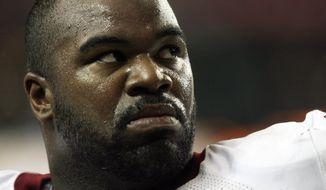 **FILE** Washington Redskins defensive tackle Albert Haynesworth (Associated Press)