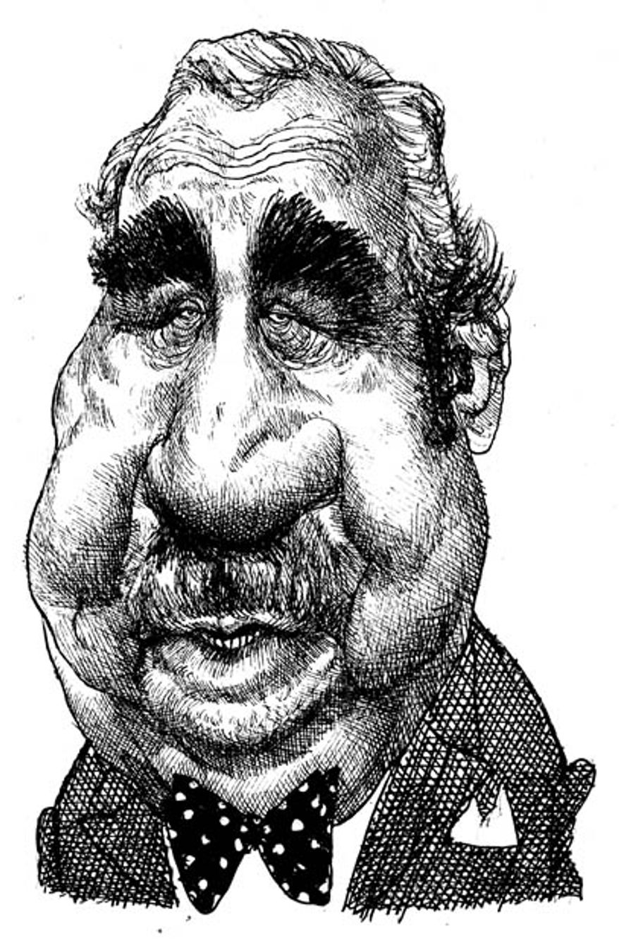 Illustration: Charlie Rangel by Mike Ramirez