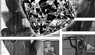 Illustration: Charles Taylor's diamonds